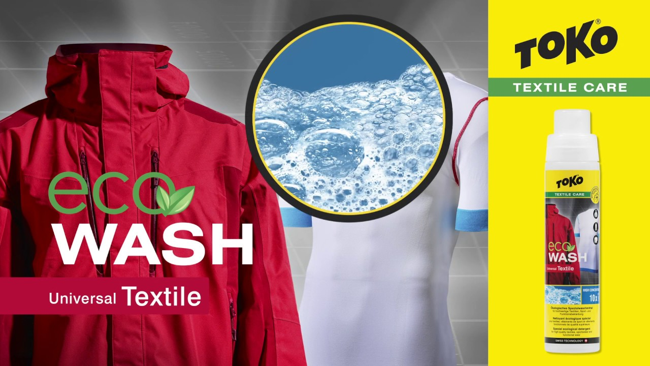 Toko Eco Textile Wash для стирки функциональной одежды