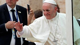 Pope Francis suffers minor injury in Colombia