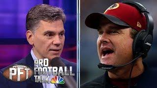 Washington Redskins fire Jay Gruden after 0-5 start in 2019 | Pro Football Talk | NBC Sports