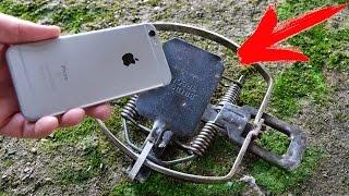 ЧТО ЕСЛИ СУНУТЬ iPhone 6S в МЕДВЕЖИЙ КАПКАН - ВЫДЕРЖИТ ТАКИЕ ИЗДЕВАТЕЛЬСТВА..?!