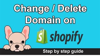 How to delete domain on shopify (2021)  | How to change domain on shopify | Remove domain on shopify