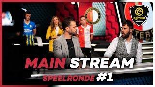 MAIN STREAM | SPEELRONDE 1 | eDivisie 2019-2020 FIFA20