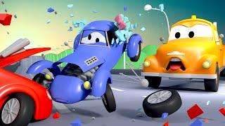 Эвакуатор Том и Кэйти модница в Автомобильный Город   Мультфильм для детей