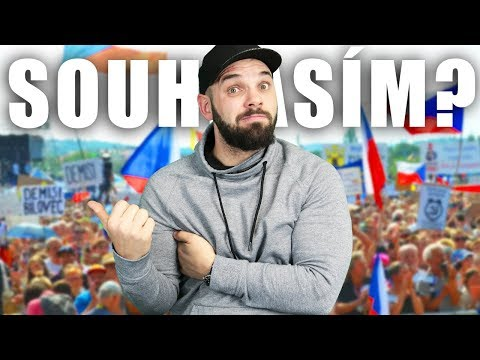 SOUHLASÍM S DEMONSTRACEMI? | Q&A + Shakes