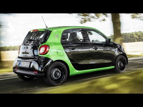 2017 Smart Forfour Electric Drive - Perfect City Car