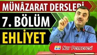 Mustafa KARAMAN - Münâzarat Dersleri Yedinci  Bölüm