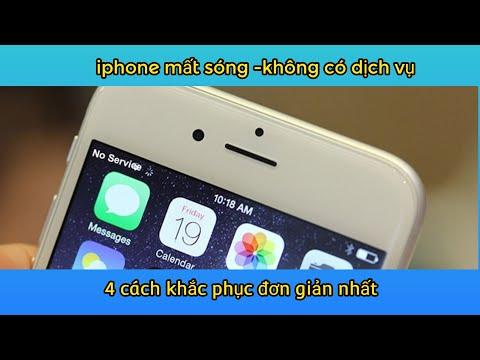 4 cách sửa lỗi mất sóng không có dịch vụ trên iPhone