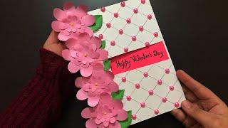 Handmade Valentines Card Tutorial | Valentines Card Ideas | Valentine Gift Ideas