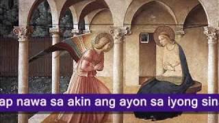Ang Orasyon (The Angelus in Tagalog)
