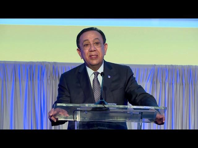 Participación Héctor Valdez Albizu en la 52ª asamblea anual de la FELABAN