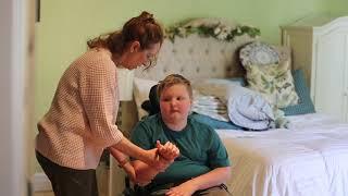 Arm Stretches in Wheelchair (Non-Ambulatory)