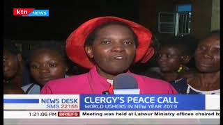 Clergy call for peace as Kenyans usher in the new year
