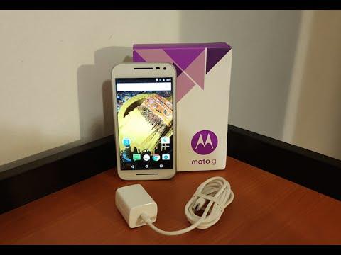 Unboxing Moto G 2015 (3 Gen.) 2GB Ram 16GB Mexico