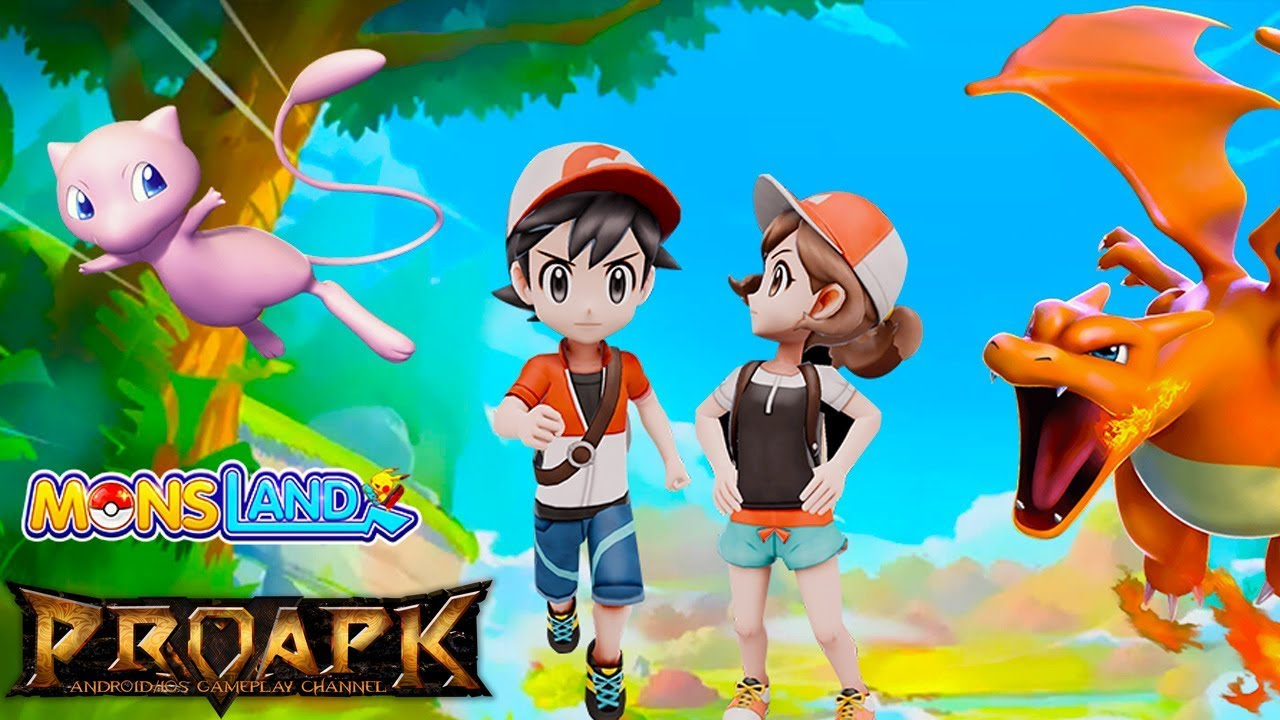 Mons Land Gameplay Android / iOS (CBT) (Pokemon Let's Go