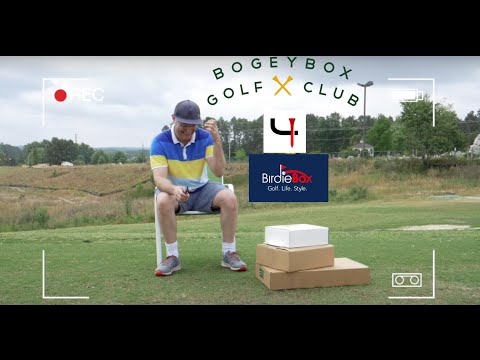 Going Golf Box Crazy: Unboxing BirdieBox, Bogey Box, and Short Par 4