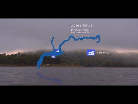Challenge de pêche des carnassiers Henry Hermet, barrage de Sarrans 2018.,