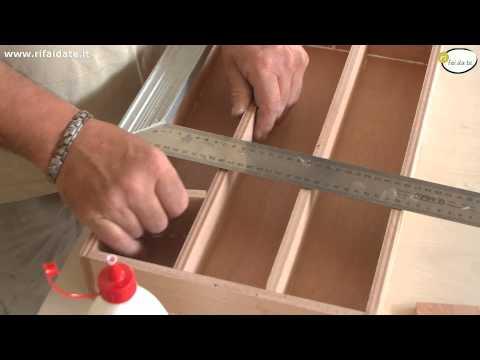 Costruire Una Porta Di Legno.Come Fare Una Scatola Per Pescare Di Legno Compensato Pesca Di Una