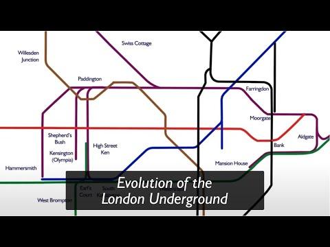 Evolution of the London Underground