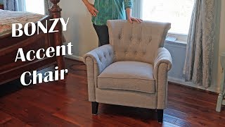 ACCENT CHAIR 🌺 Armchair Stylish Living Rom, Bedroom Seating Review 👈