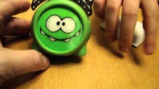 Burger King BK Kids Meal Toy - Cut The Rope - Nom as Viking by Spiderman Jerry