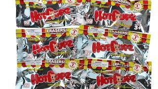 Hot Pupz Puzzle Eraser Blind Bags Unboxing Toy Review