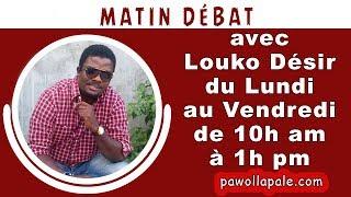 MATIN DÉBAT - Mercredi 5 Décembre 2018 / Louko Désir & Konpayi