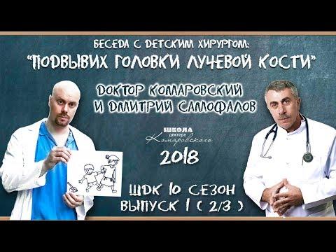 Подвывих головки лучевой кости - Доктор Комаровский