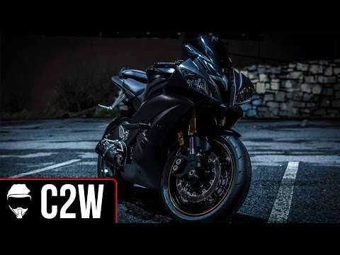 Yamaha R6 Murdered Out! - C2W Black Bike Reveal