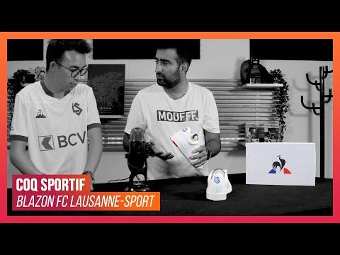On a reçu la Blazon FC Lausanne-Sport en collaboration avec Le Coq Sportif