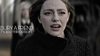 hope mikaelson   bury a friend [1x14]
