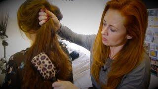 Gambar cover Relaxing Hair Brushing, Scalp Massage, Oils & Hair Play ASMR/Trinaural