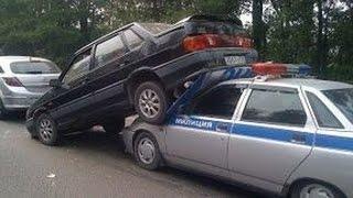 INSANE RUSSIAN DRIVERS ON ROAD JANUARY 2017