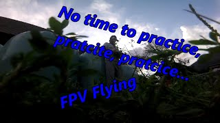 Finally get some time to practice FPV flying and crashing