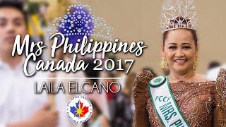 Mrs Philippines Canada 2017 - Laila Elcano