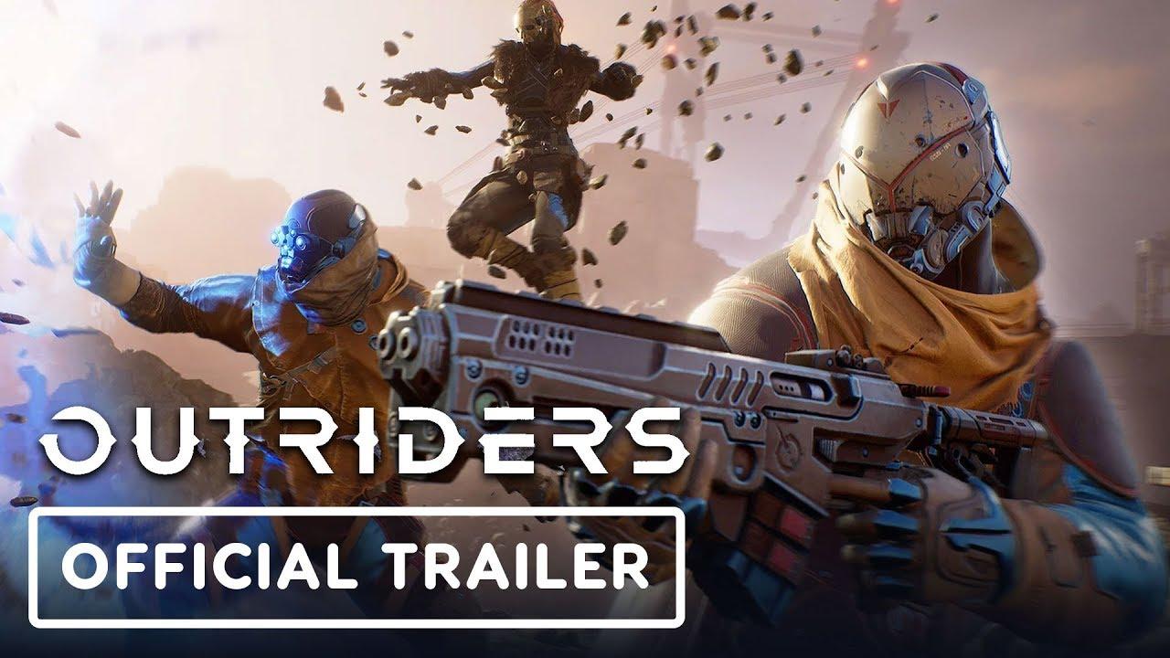 Анонсирующий трейлер игры Outriders