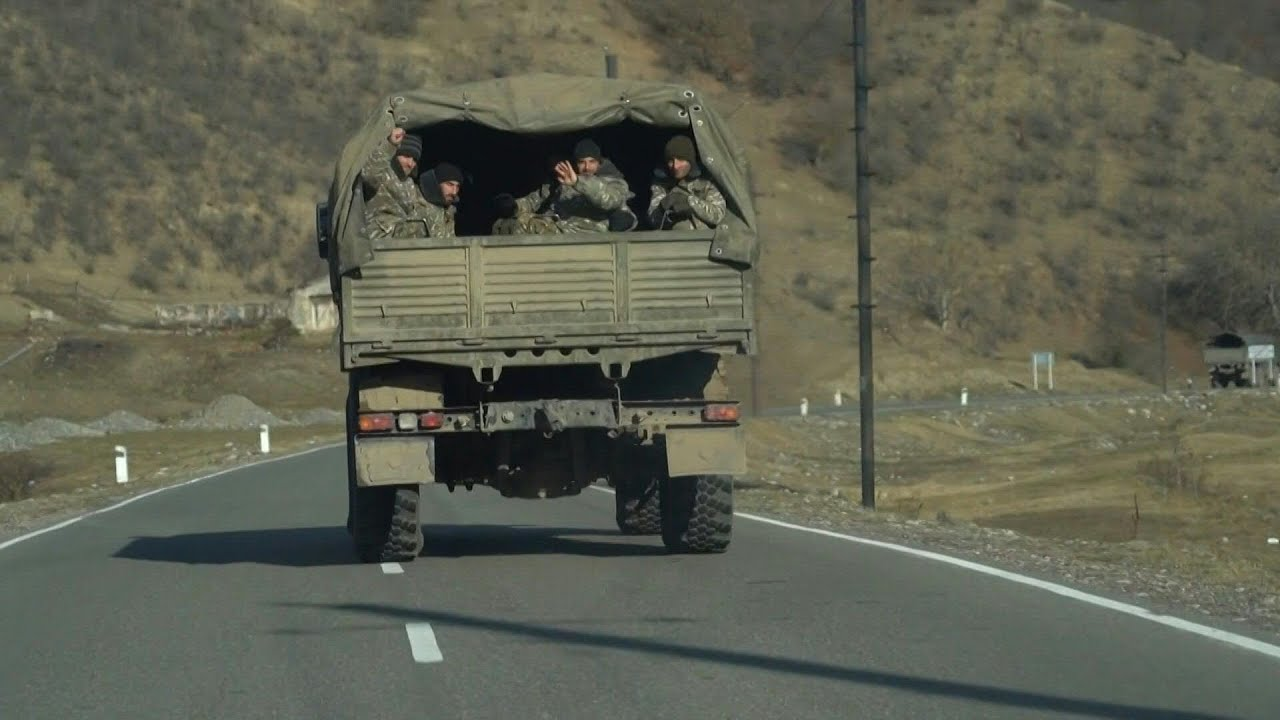 Հայկական զորքը դուրս է բերվում Քարվաճառից՝ Ադրբեջանին հանձնելուց առաջ