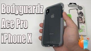 iPhone X Bodyguardz Ace Pro Case Gray/Clear | Unequal Review