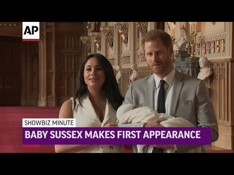 Meghan, Harry present royal newborn to public; George Clooney hopes media will be 'kinder' to Meghan Markle; Disney slates Fox films, 'Avatar' pushed another year. (May 8)