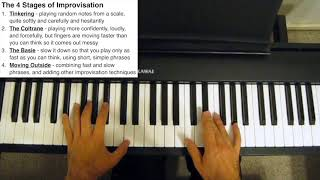 The 4 Stages of Improvisation