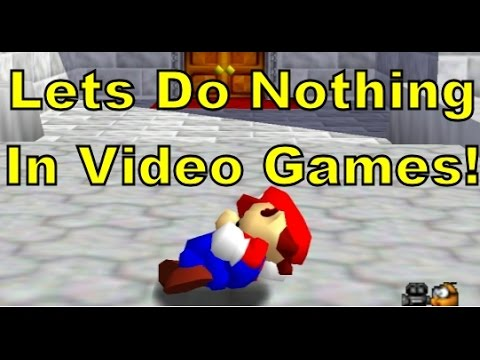 What Video Game Characters Do When You're Not Controlling Them