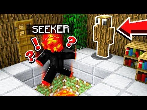 HOW TO TROLL A SEEKER! MINECRAFT HIDE & SEEK!