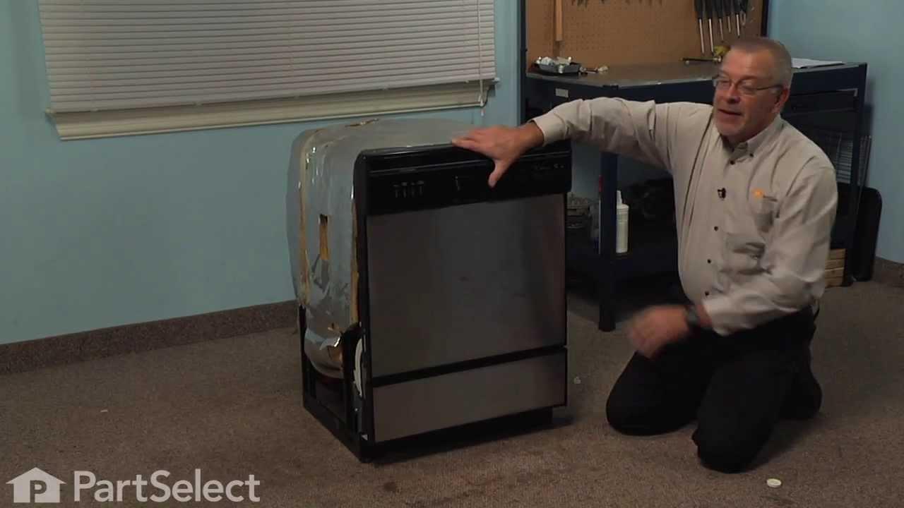 Replacing your KitchenAid Dishwasher Single Roller Wheel
