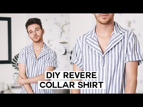 Download DIY Summer Button Down / Revere Collar Upcycle HD Mp4 3GP Video and MP3