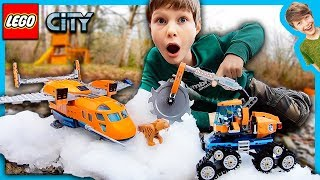 LEGO City Arctic Supply Plane Tiger Attack!