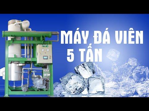 Lắp đặt, vận hành máy làm đá viên ICE COOL 5 tấn tại Duy Xuyên, Quảng Nam