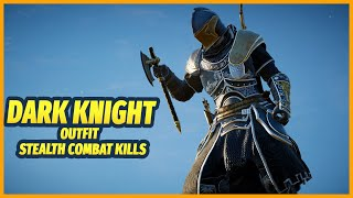 Dark Knight Armor Outfit Stealth Combat Takedown