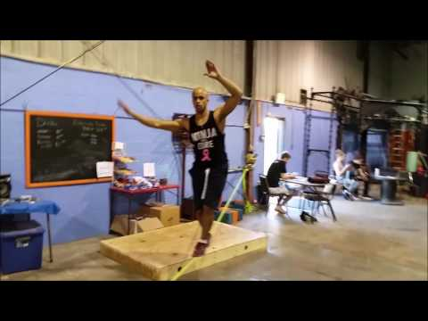 Clips from 2016 Ninja Warrior competitions and training sessions to show parkour students the type of movement training we would do together