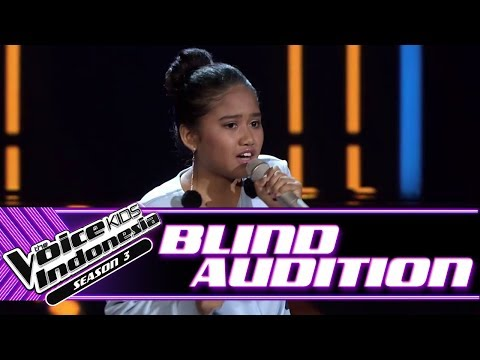 Chiesa - Three Little Birds | Blind Auditions | The Voice Kids Indonesia Season 3 GTV 2018