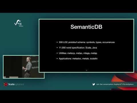 SemanticDB for Scala developer tools