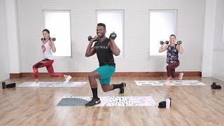 30 Minute Calorie Burning, Tabata Style HIIT Workout